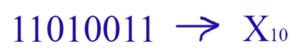 Перевод чисел из двоичной системы в десятичную систему